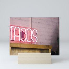 Tacos Sign Mini Art Print