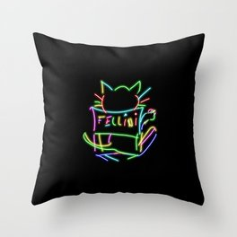 Fellini Throw Pillow