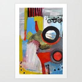 Lineas y Circulos 4 Art Print