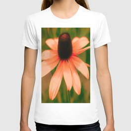 Vibrant Orange Coneflower T-shirt