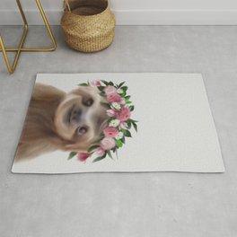 sloth print, children's room decor,  sloth art, sloth poster, animal nursery Rug