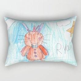 Easter Bunny Rectangular Pillow