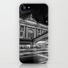 Rainy Night at Grand Central Terminal 2019 V iPhone Case