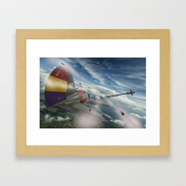 Dogfight Framed Art Print