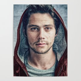 Stiles and his Red Hoodie Poster