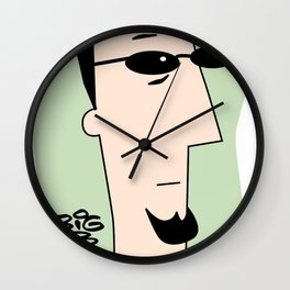 Pre-approved Opinions Wall Clock