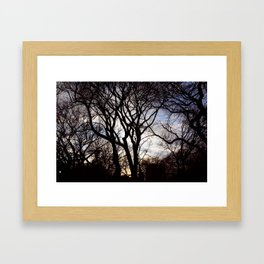 Winters Dawn Framed Art Print