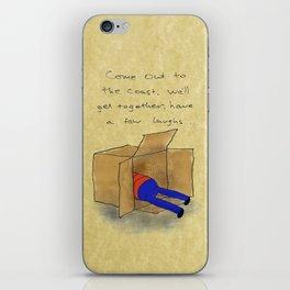 Die Hard Box iPhone Skin