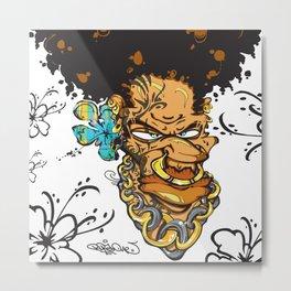 Momand'loup Metal Print
