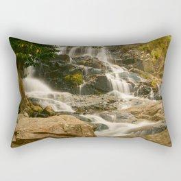 Silky Cascading Waterfall Hong Kong Rectangular Pillow