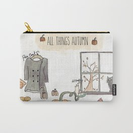 All Things Autumn Carry-All Pouch