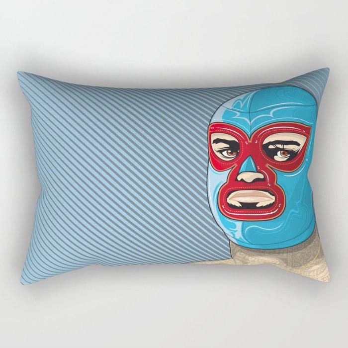 nacho libre, el campeon! Rectangular Pillow