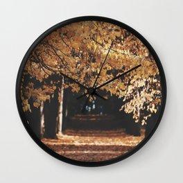 Linden alley Wall Clock