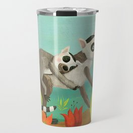 Babies on Backs Travel Mug