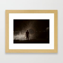 Into The Fire 2013 Framed Art Print