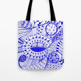 Leander Blue Tote Bag