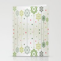 deco Stationery Cards featuring Holidays Deco by Elena Indolfi