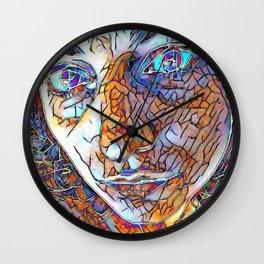 Diaphaneity Wall Clock