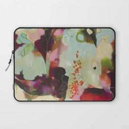 """Deep Embrace"" Original Painting by Flora Bowley Laptop Sleeve"
