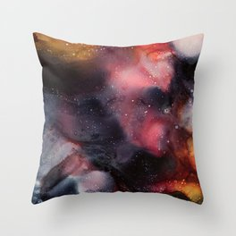 Beyond Dark Skies Throw Pillow