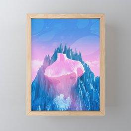 Mount Venus Framed Mini Art Print