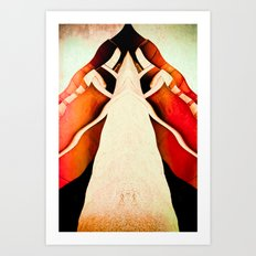 There's Nowhere Else To Take Shelter Art Print