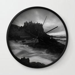 Evening at Dunluce Wall Clock