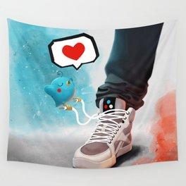 sneaker Love Wall Tapestry