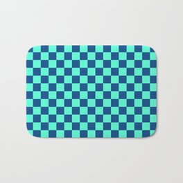Checkered Pattern VI Bath Mat
