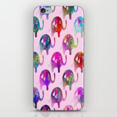 Elephant Party iPhone & iPod Skin