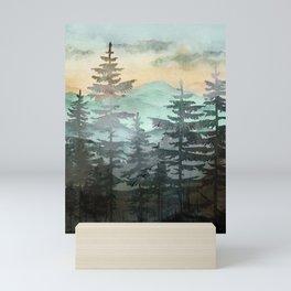 Pine Trees Mini Art Print