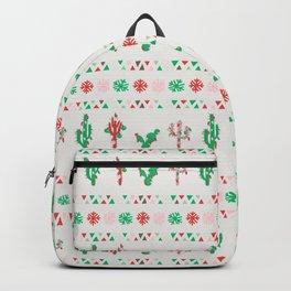 Christmas llama Backpack