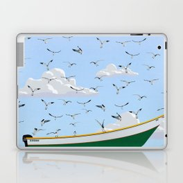 Boat and Birds Laptop & iPad Skin