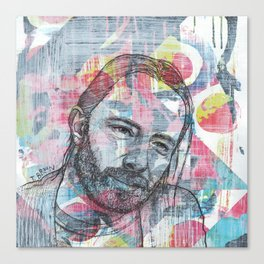 Thom Yorke - We Suck Young Blood Canvas Print
