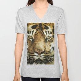 Face of Tiger Unisex V-Neck