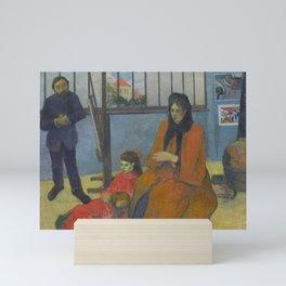 Paul Gauguin - Schuffenecker's Studio (1889) Mini Art Print
