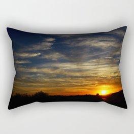 Colorful sunset Rectangular Pillow