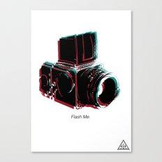 Flash Me Canvas Print