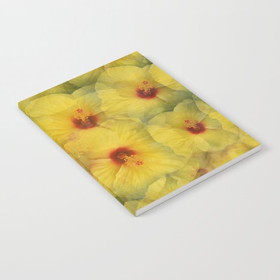 Yellow Hibiscus Notebook