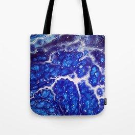 Synapse Blues Tote Bag