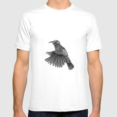 Colibri Mens Fitted Tee White SMALL