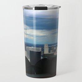 Top of the Rock View over Manhattan Travel Mug