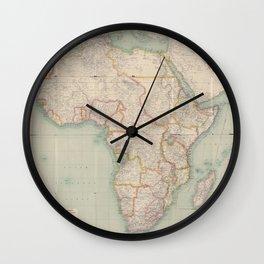 Africa 1909 Wall Clock