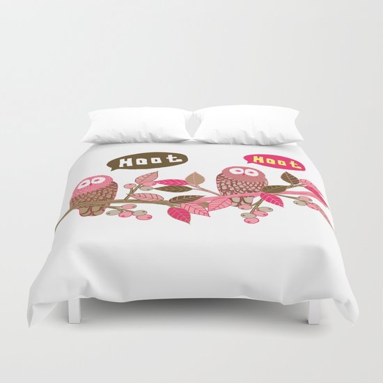 Hoot Duvet Cover