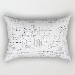 Mathematical equations Rectangular Pillow