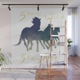 Horses Wild & Free Wall Mural