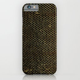 tiny honeycombs iPhone Case