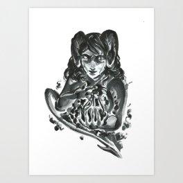 Inktober 2018: Gift Art Print