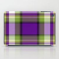 plaid iPad Cases featuring Plaid by Kevin Rogerson