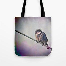 A New York City Sparrow Tote Bag